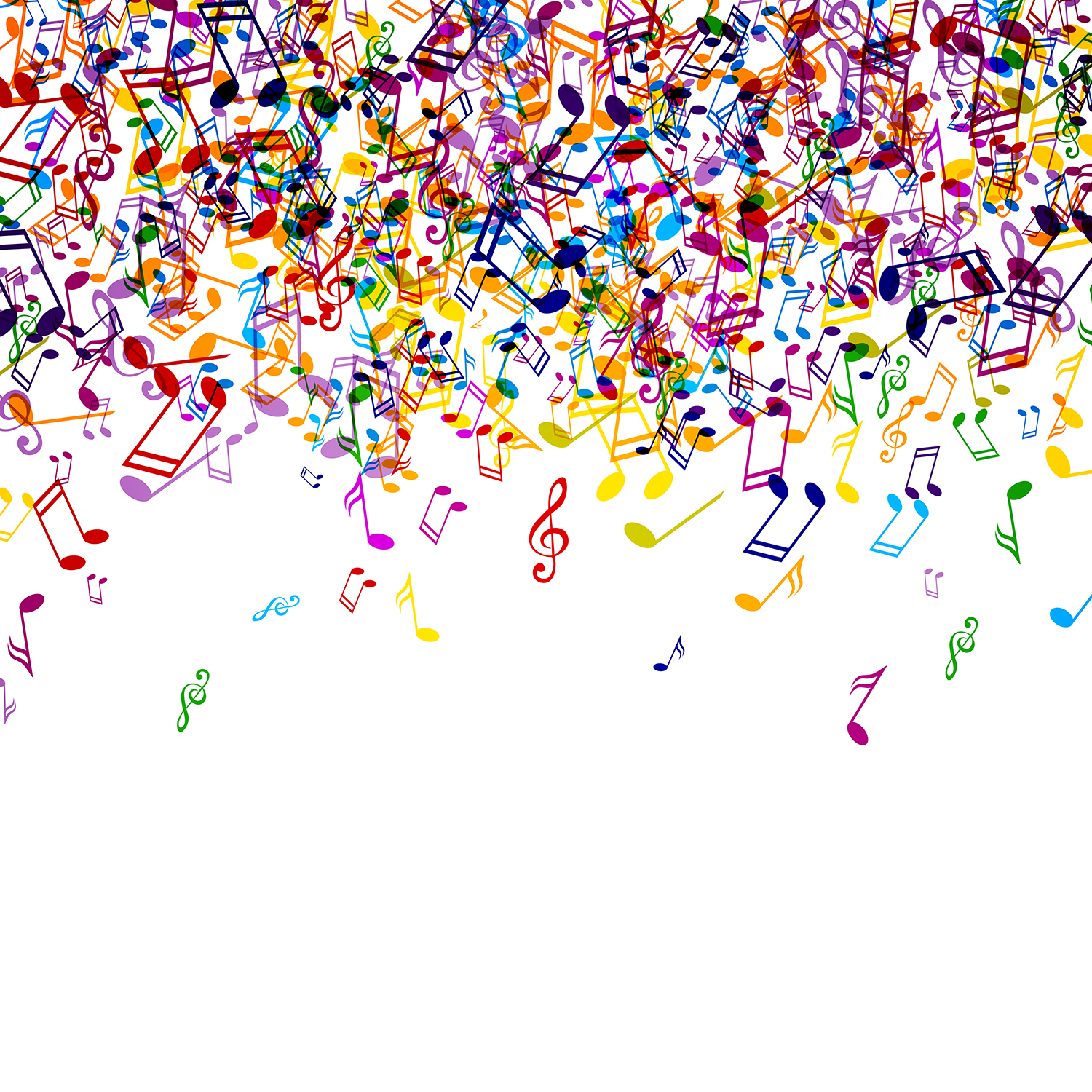 Colorful music notes patterns music notes background free do you know which early 00s song came out first rh buzzfeed com music notes background voltagebd Images