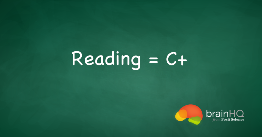 Reading Gets a C+