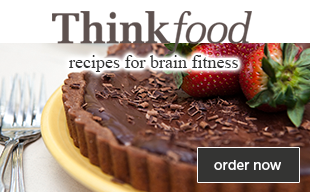 Order ThinkFood Cookbook!